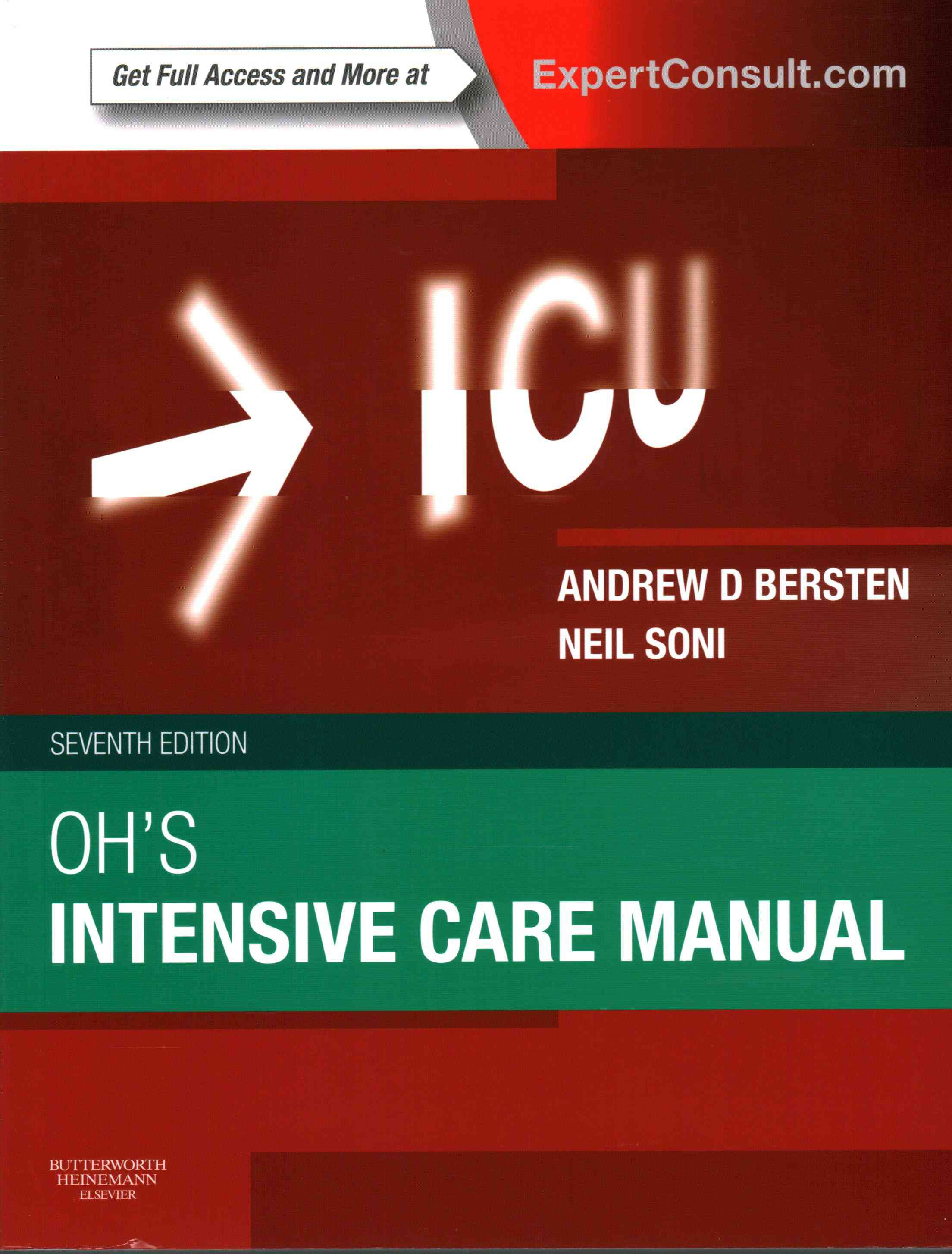 Oh's Intensive Care Manual By Bersten, Andrew/ Soni, Neil